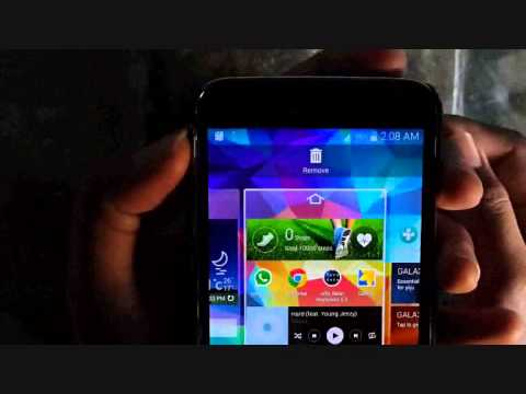 Samsung Galaxy s5 : How to Change Home Screen (Android Phone)