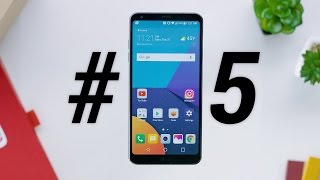 Top 5 LG G6 Features!