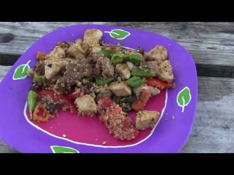 How to Make Camp Fire Stirfry - Split Rock Lighthouse State Park