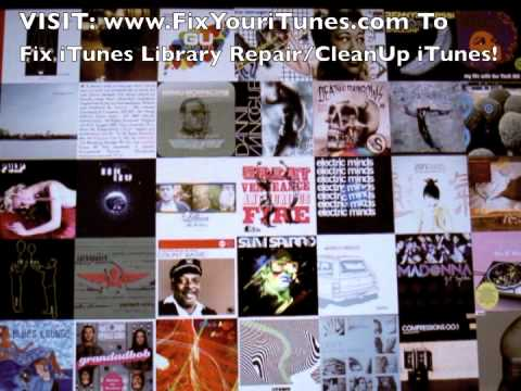 Fix iTunes Library Repair/CleanUp iTunes! - Fix Your iTunes Now!