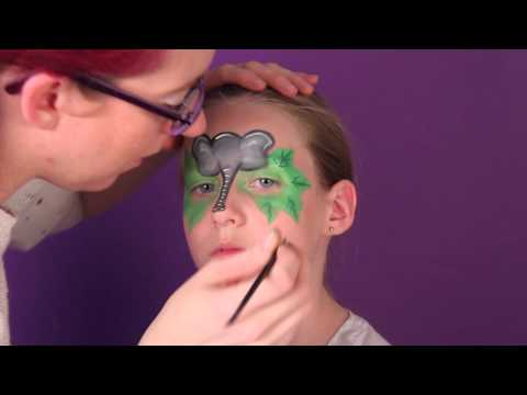 Elephant Mask- Face Painting Tutorial