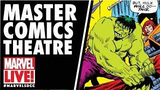Master Comics Theatre LIVE: Hulk on Marvel LIVE! at San Diego Comic-Con 2017