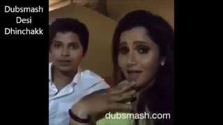 New Dubsmash AHMAD SHEHZAD and Pakistani Cricters With SANIA MIRZA 2015
