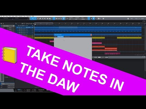 024 - Studio One 4 | NOW HAS NOTES, WOW