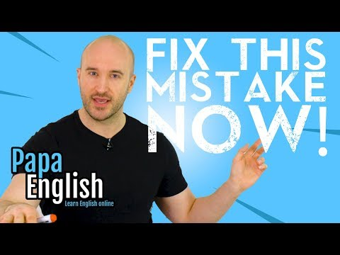 Most Common Grammar Mistake Ever!! (Don't Do This!)