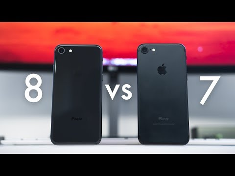 iPhone 7 vs 8