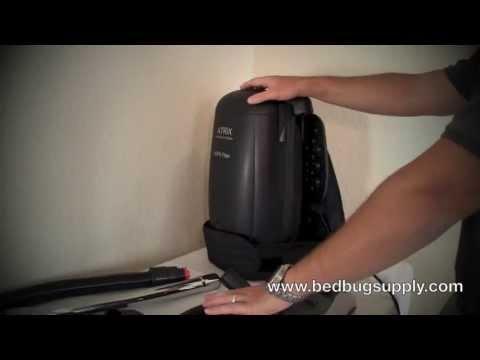 Atrix Bug Sucker Backpack HEPA Pest Vacuum