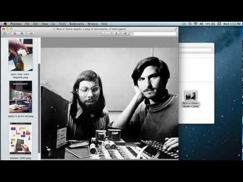 Batch Convert Images in Mac OS X with Preview