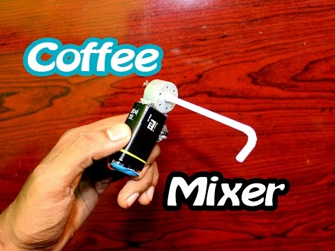 How to Make a Mini Coffee  Mixer(Home Made ) - Easy Tutorials