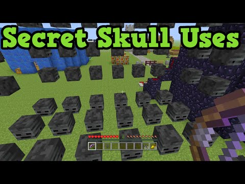 Minecraft Xbox 360 / PS3 - 5 Secret Uses For Mob Heads