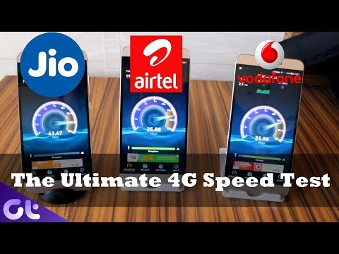 Jio vs Airtel vs Vodafone: The Ultimate 4G Speed Test Comparison from 10 Locations!