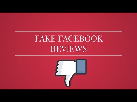 Need Fake Facebook Reviews Removed?