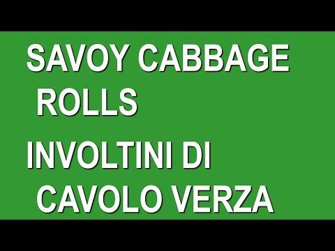 Christmast dinner recipe savoy cabbage rolls