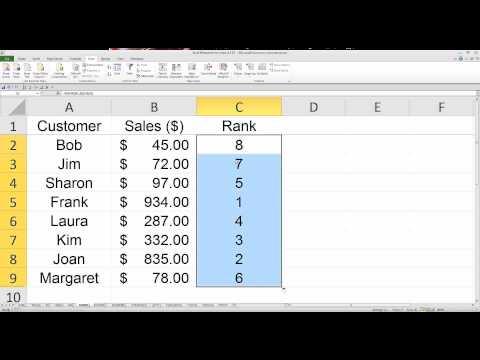 10 Useful Excel Functions - FreeTutorialExcel.com
