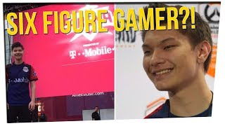 High School Dropout Becomes Highest Paid Gamer  ft. Steebee Weebee, Gina Darling, DavidSoComedy