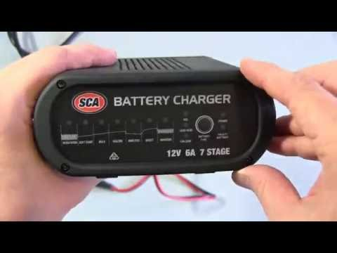 SCA Automatic Car Battery Charger Review (12V 6A)