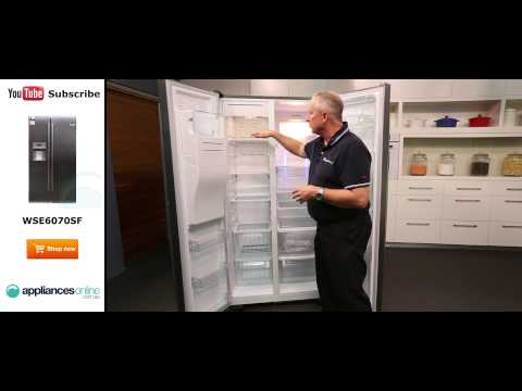 600L Westinghouse Side By Side Fridge WSE6070SF Reviewed by product expert - Appliances Online