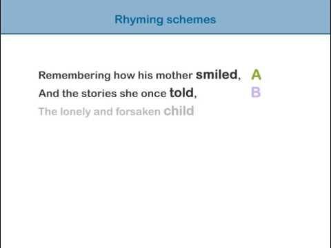 Rhyming Schemes