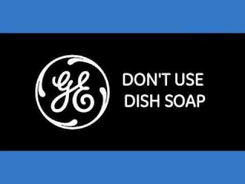 Dishwasher Tip: Do not use Hand Soap