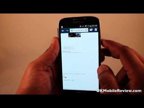 Samsung Galaxy S4 TouchWiz Demo