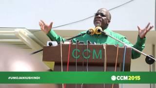 Mhe. John P. Magufuli Alipoongea Na Wananchi Wa Dar Baada Ya Kuchukua Fomu Ya Kugombea Urais.
