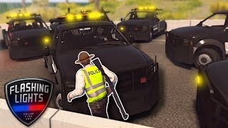 COPS SUMMON TOW TRUCK APOCALYPSE! - Flashing Lights Multiplayer Gameplay - Police Simulator Game