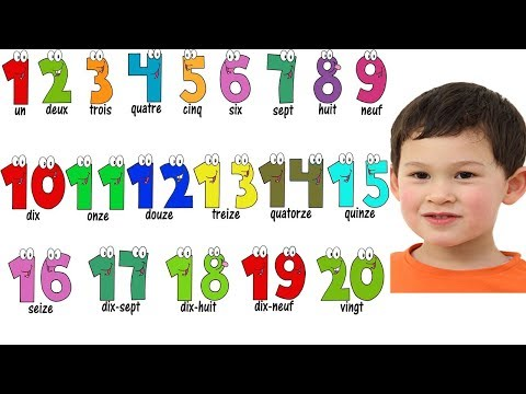 Learn to Count numbers 1-20 in French | Learn Numbers and Counting 1-10
