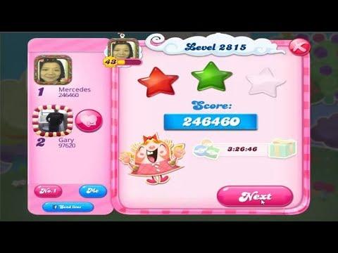 Candy Crush Saga 2815   |   2-Star ⭐⭐   |   ONE TRY