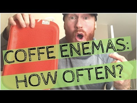Coffee Enemas:  How Often Should You DO them?