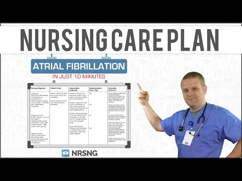 Mastering The Atrial Fibrillation Nursing Care Plan in Just 10 Minutes!