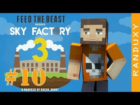 SkyFactory 3: Minecraft - Ep.10 - MAKING A FLINT PICKAXE AND A FLINT AXE, TINKER TOOLS!