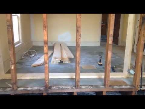 HOW TO REMOVE & REPLACE LOAD BEARING WALL DIY (PART-3)