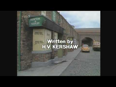 ITV - Corrie Fire (1986) extended End Credits