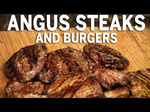 Angus Steaks and Burgers by the BBQ Pit Boys