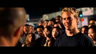 Vin Diesel Rips Paul Walker (The Fast And The Furious)