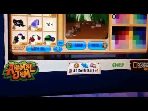 How to get free stuff easy on animal jam hack