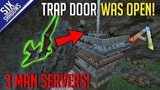 RAIDING HIDDEN BASES! | MTS 3-Man PvP Servers! - Ark