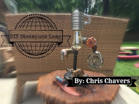 DIY STEAMPUNK LAMP