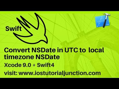 Convert UTC date to local timezone date - swift 4 +  ios sdk