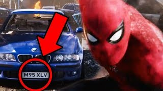 Download Spiderman Far From Home Every Easter Egg on License Plates Explained! Video
