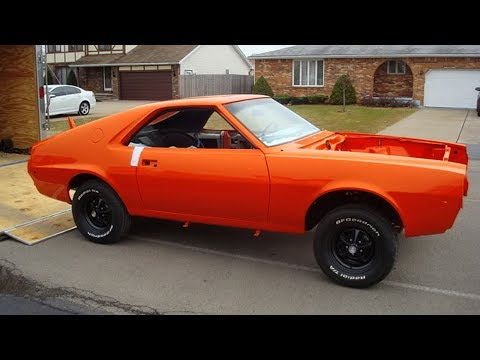 1970 AMC AMX Big Bad Orange 390 Restoration Project