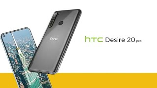 HTC Desire 20 Pro | Snapdragon 665, 5000mAh Battery, 6.5 inch screen...| Official Trailer Video