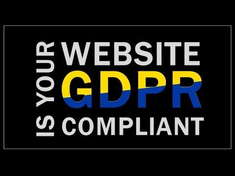 Is Your Website GDPR Compliant