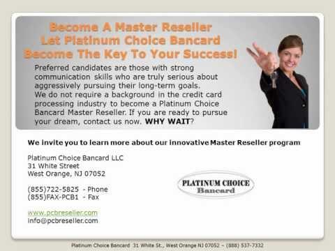 Platinum Choice Bancard Reseller Program