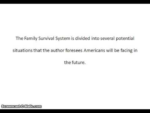 Family Survival System Review | Family Survival System Discount