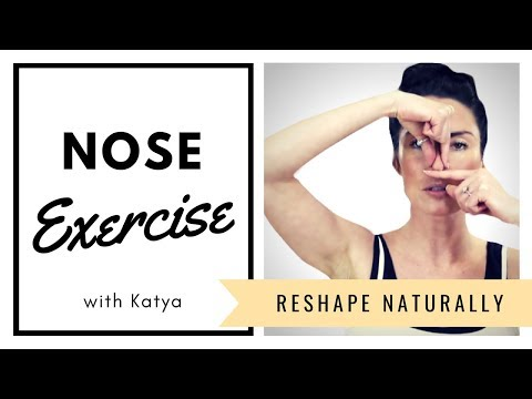 Nose Exercise - Reshape and make smaller NATURALLY