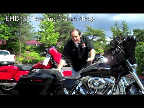 Harley Touring Drop Seat