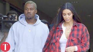 Something Strange Is Happening To Kim and Kanye