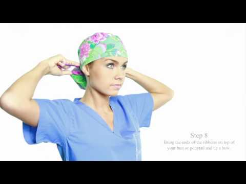 How to Wear the Pony Hat by blue sky scrubs