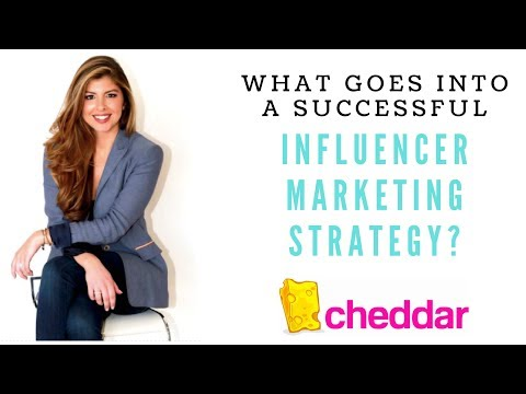 Chelsea Krost on Cheddar: What goes into a successful Influencer Marketing Strategy?